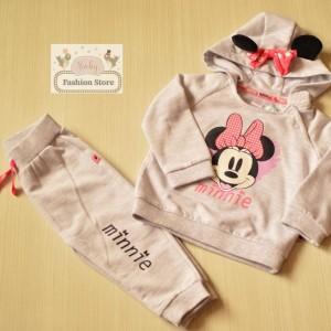 Conjunto Minnie Mouse Grey - Ropa para bebés de 9 meses