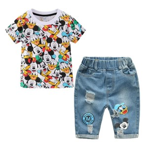 Conjunto Amigos Mickey - Ropa de Niño - Polo y Jean