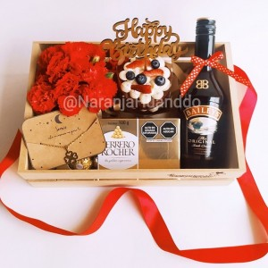 BOX LOVE POWER - con torta