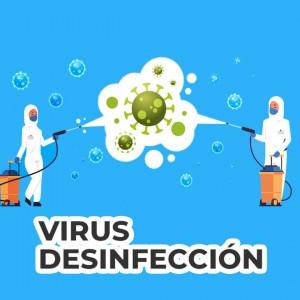 Desinfección de Inmuebles - Protección de los Virus con productos naturales, biodegradables y ecológicos
