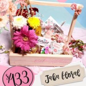 Jaba floral - día de la madre