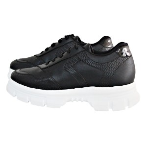 Zapatillas KIM super comodad, color blanco y negro