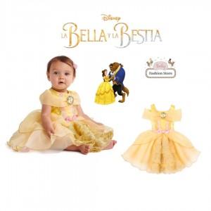 Vestido de Bella para bebé - La Bella y la Bestia