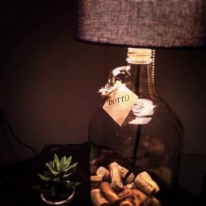 Lámpara La Dama del Recuerdo - Estilo vintage