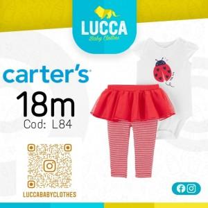 Conjunto Mariquita ropa para Niña Atuendo Sport Talla 18m