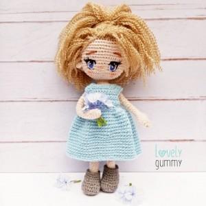 Mi pequeña Nicolina- Lovelygummy - Muñeca personalizable