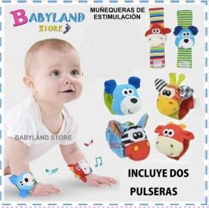 Muñequeras de estimulación - BabyLand Store