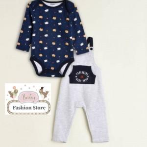 Overol Zorrito - Ropa para bebés de 6 a 18 meses