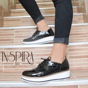 Zapatos Oxford Divine - Color Negro - Súper cómodas