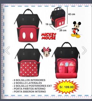 Pañalera Minnie Mouse - Artículo de bebé