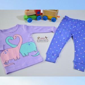 pijama dino baby niña 12 meses Carters - Baby Fashion Store
