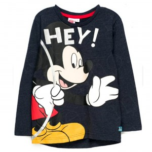 Polo Mickey Mouse Manga Larga - Ropa de Niño