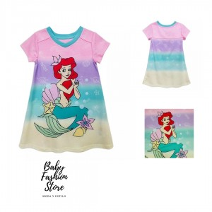 Camisón Ariel para niñas - La Sirenita