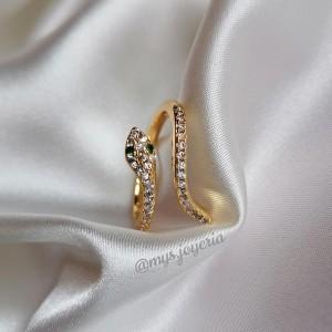 Rings - Anillo Snake - Anillo de acero inoxidable 316L