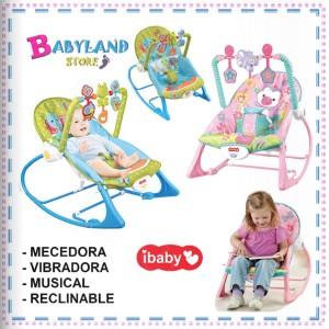 Mecedora Musical y vibradora - Artículo de bebé