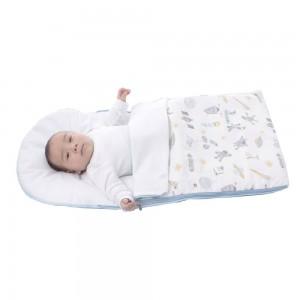 Sleeping Bag Baby Maternelle - Celeste Espacial