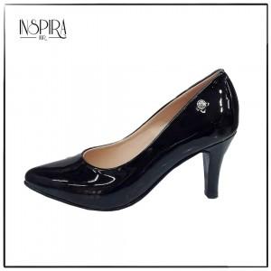 Stilettos de Charol en tendencia - Color Negro