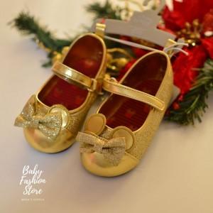 Zapato Minnie Dorada
